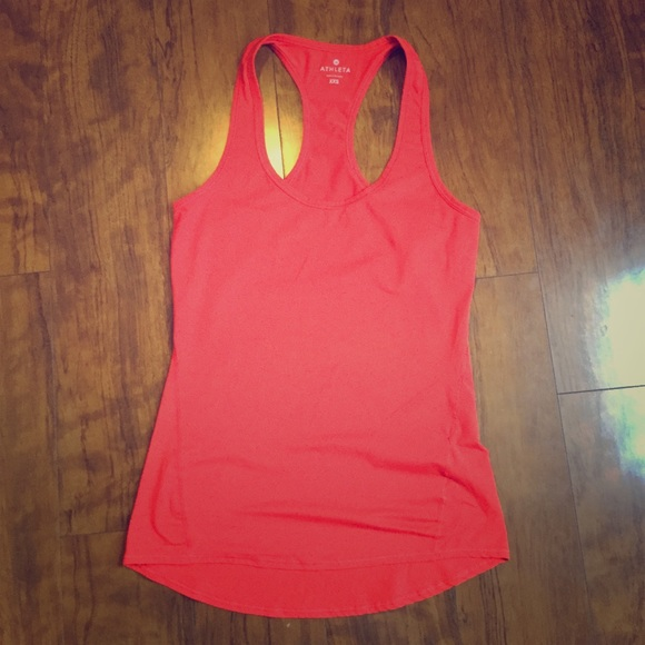 e192ac333f797d Athleta- Red Racer Back Workout tank. Size XXS